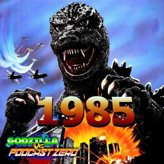 Madcast Media Network - Godzilla vs Podcast Zero - E24 - Godzilla (1985) - Brandon Bird