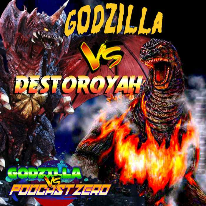 Madcast Media Network - Godzilla vs Podcast Zero - Godzilla vs Destoroyah with Cody Ziglar