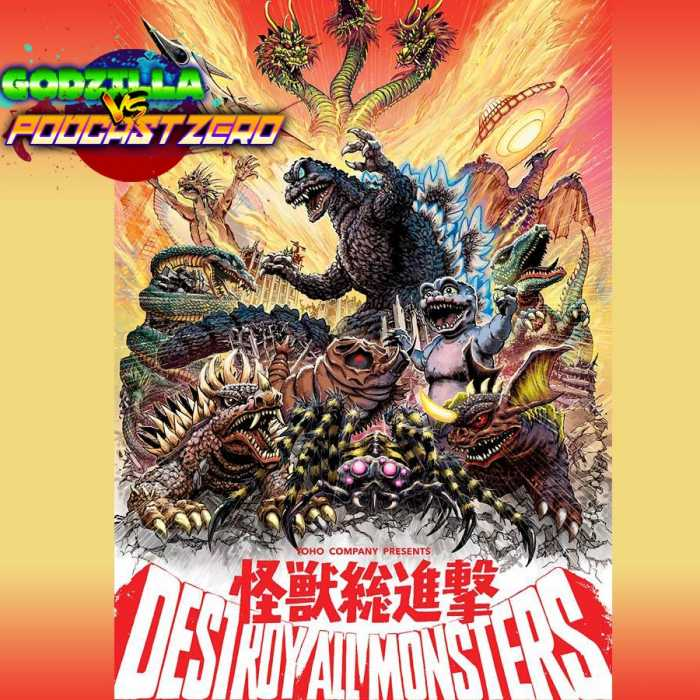 Madcast Media Network - Godzilla vs Podcast Zero - Destroy All Monsters (1968) - Royce Shockley