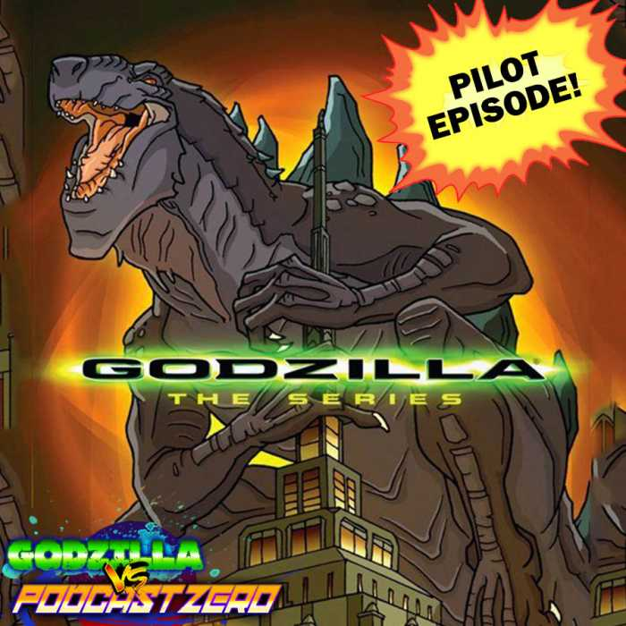 Madcast Media Network - Godzilla vs Podcast Zero - New Family with Gina Ippalito
