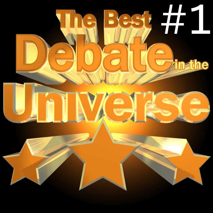Madcast Media Network - The Best Debate in the Universe - Welcome to the debut episode of The Best Debate in the Universe.