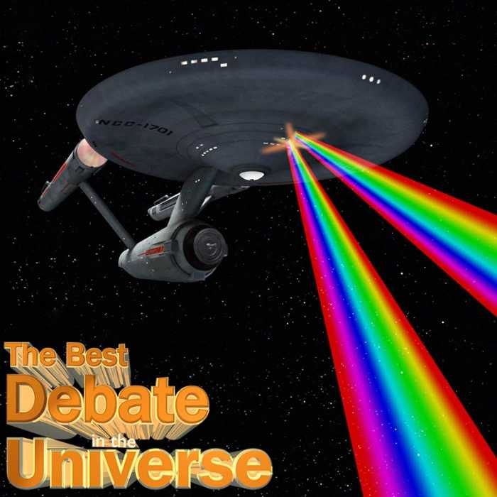Madcast Media Network - The Best Debate in the Universe - This week, we debate the decision to make Sulu in the upcoming Star Trek movie gay. Surprisingly, one of the biggest critics of the decision comes from George Takei himself; the gay actor who played the original character.