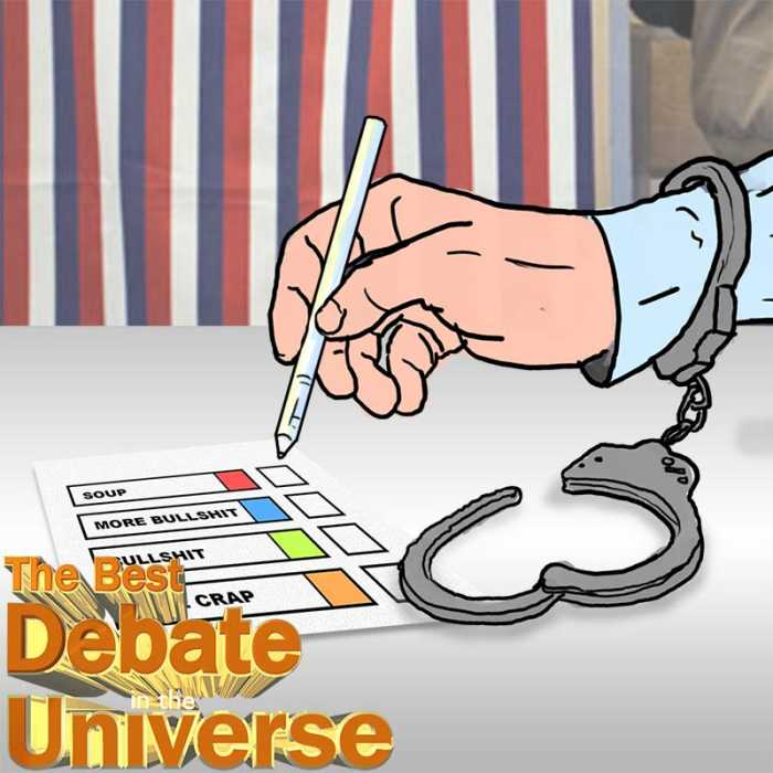 Madcast Media Network - The Best Debate in the Universe - Should ex-offenders have the right to vote?