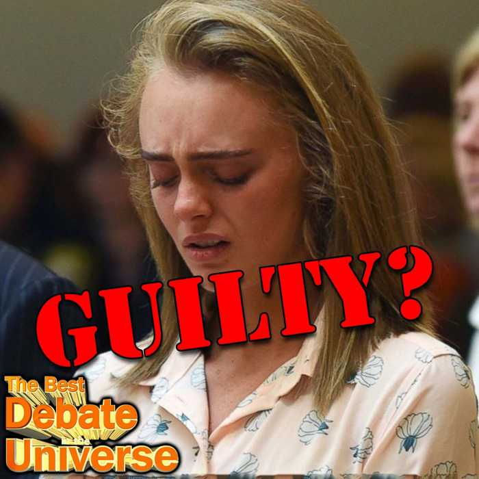Madcast Media Network - The Best Debate in the Universe - Michelle Carter, the girl who was at the center of a coerced suicide case has finally been judged as guilty of manslaughter. The ACLU has decried the ruling as having a potentially chilling effect on free speech. So the debate this week is: IS SHE GUILTY OR IS IT FREE SPEECH?