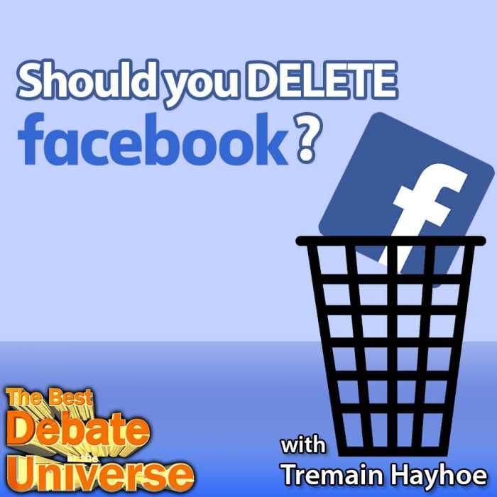 "Madcast Media Network - The Best Debate in the Universe - A lot of people are deleting Facebook in light of the Cambridge Analytica scandal. But should you? That's the debate this week: SHOULD YOU DELETE FACEBOOK? Also we got into a heated mini-debate about cottage cheese and whether or not you should make your own ""fiesta scramble."" Make sure to vote on both (latter debate around 30 minutes in)."