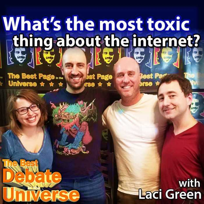 Madcast Media Network - The Best Debate in the Universe - The Internet used to be kinda cool, then it sucked for a while, then I started a web page and it became very cool, and now it's shit again. What's the worst thing about it? That's the debate this week: WHAT'S THE MOST TOXIC THING ABOUT THE INTERNET?