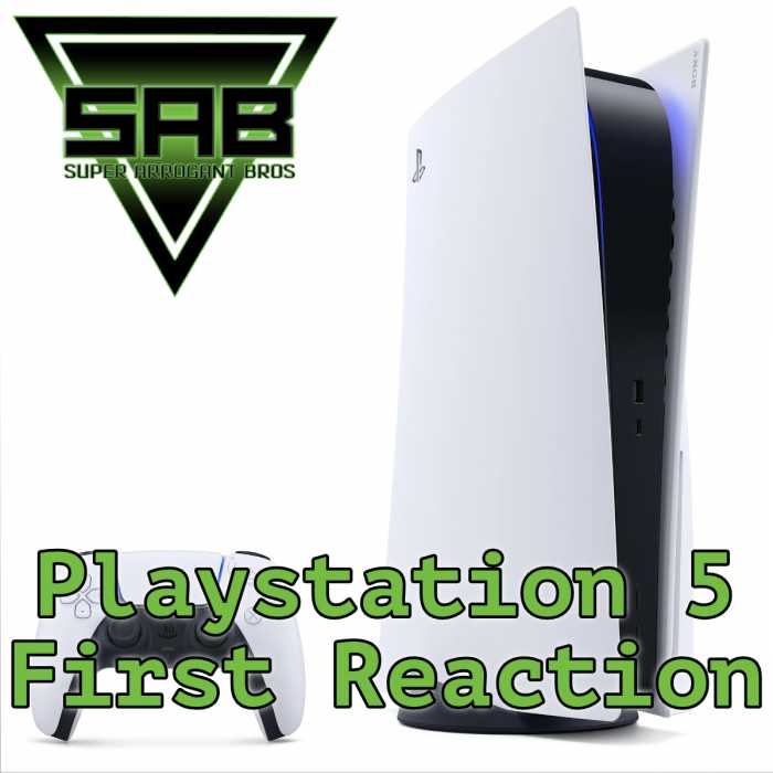 Madcast Media Network - Super Arrogant Bros. - Playstation 5 First Reaction