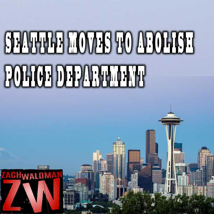 Madcast Media Network - Zach Waldman Show - Will Seattle Police Department Be Abolished?