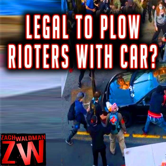 Madcast Media Network - Zach Waldman Show - Driver Plows Through Protesters in Times Square