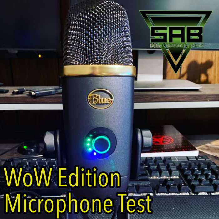 Madcast Media Network - Super Arrogant Bros. - Let's Test the World of Warcraft Yeti Mic and Talk Cyberpunk 2077